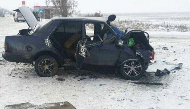 На Запорожье в ДТП один человек погиб, двое травмированы