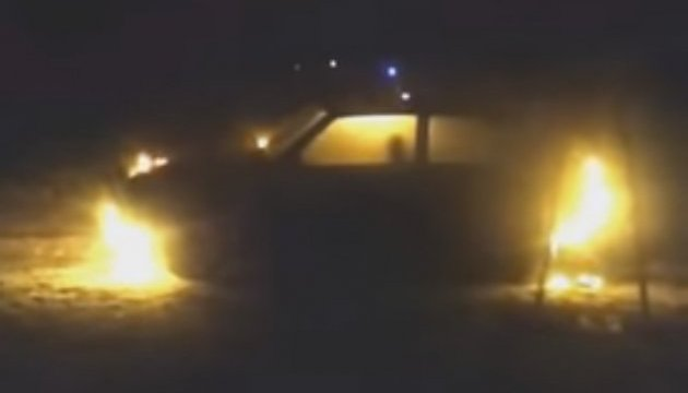 В Каменском подожгли машину редактора местного сайта