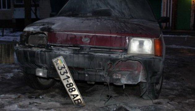 Поджог авто в Каменском: журналисты просят Луценко взять дело под контроль