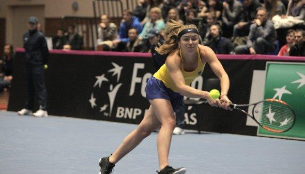Украинские теннисистки победили австралиек в Кубке Федерации