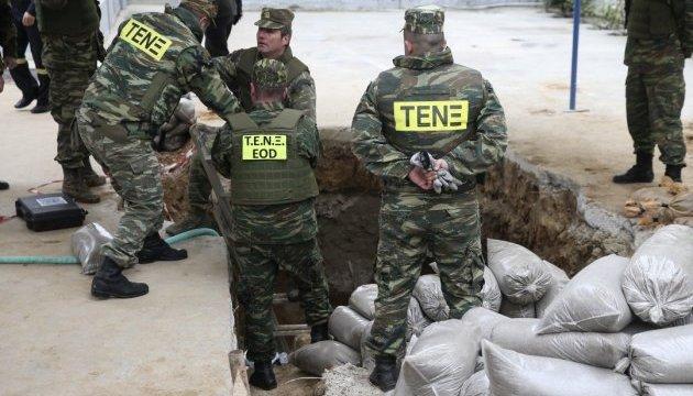 Саперы обезвредили бомбу в Салониках