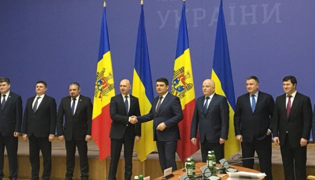 PM Groysman holding meeting with Moldova's PM Pavel Filip