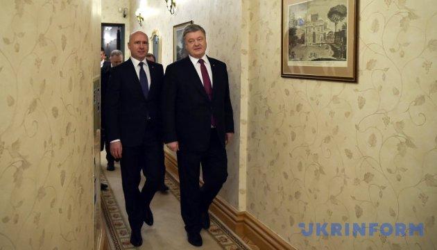 Украине и Молдове форматы реинтеграции навязывают извне - Порошенко