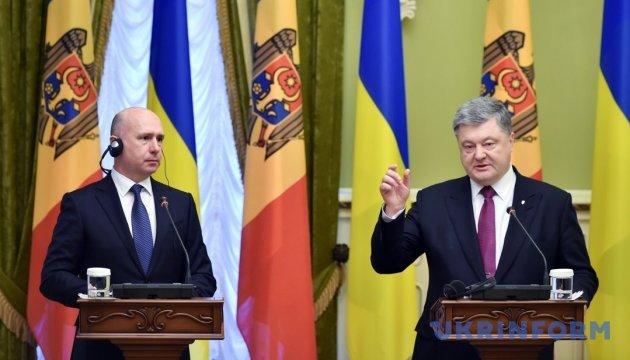 Порошенко: Демаркация границы с Молдовой должна состояться как можно быстрее