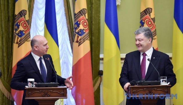Ucrania y Moldavia acuerdan intensificar la cooperación en el marco de la Asociación Oriental