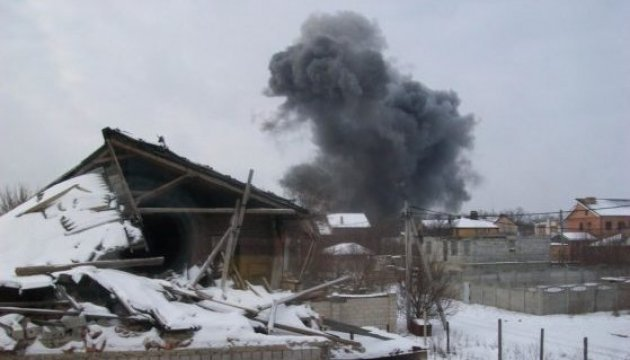 На Донецькому казенному заводі хімвиробів стався потужний вибух