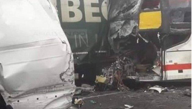 Румынский пассажирский автобус столкнулся с фурой: четверо погибших