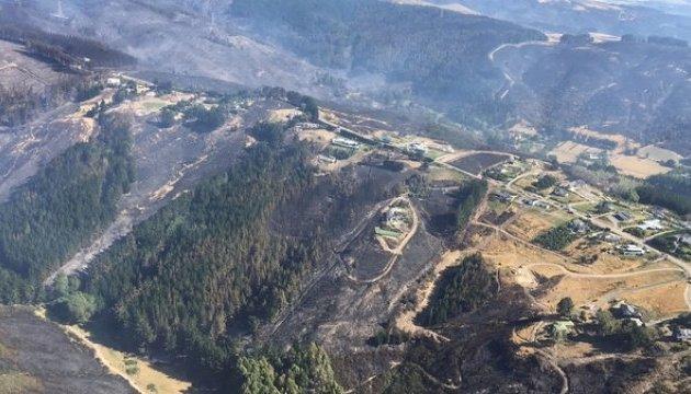 Лісові пожежі у Новій Зеландії:  понад тисячу осіб евакуювали