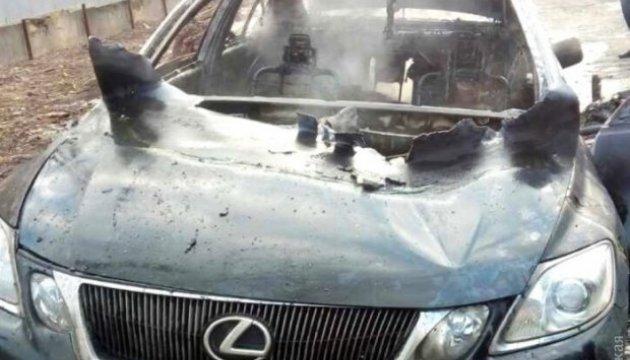 В Одессе в сожженной иномарке нашли тело бизнесмена