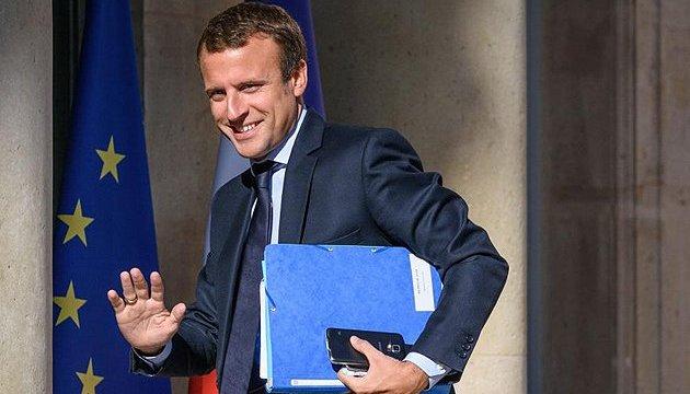Кандидат у президенти Франції Макрон підтримує санкції проти Росії