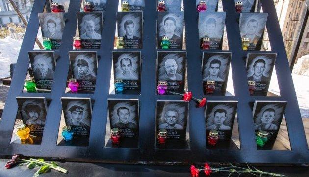 Герои Небесной Сотни вступили в один из первых боев за Независимость - Порошенко