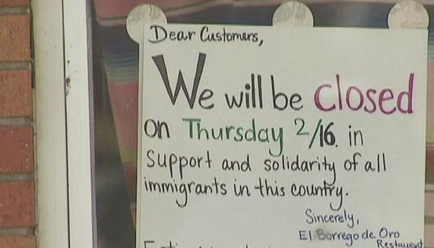 В знак протеста против политики Трампа в США закрылись рестораны