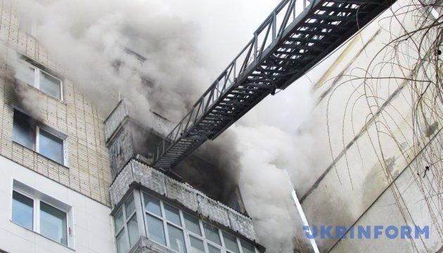 В житомирской многоэтажке произошел взрыв