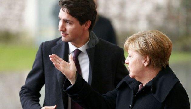 Трюдо та Меркель обговорили реакцію НАТО на отруєння Скрипаля