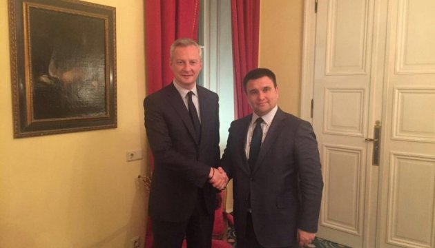 Климкин обсудил с советником Фийона вопросы Крыма и Донбасса
