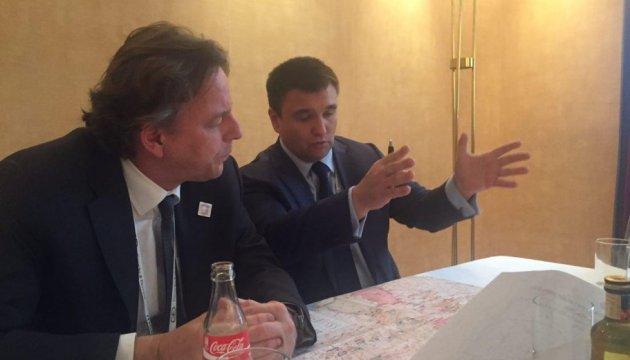 Ратификация ассоциации Украина-ЕС: Климкин встретился с нидерландским коллегой