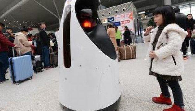 В Китае заступил на службу первый робокоп