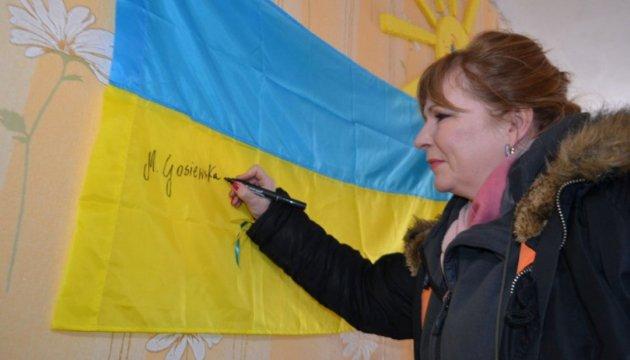 Депутат Сейма в Авдеевке увидела, что с империей нельзя договариваться