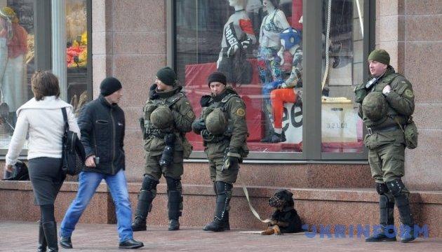 На вулиці Києва вивели 6,5 тисячі правоохоронців
