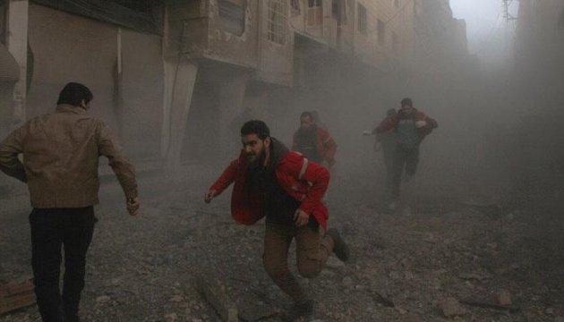 Бойовики військового злочинця Асада обстріляли схід Дамаска: майже сотня поранених