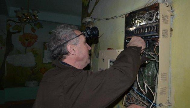 Les habitants d'Avdiyivka sont à nouveau sans lumière