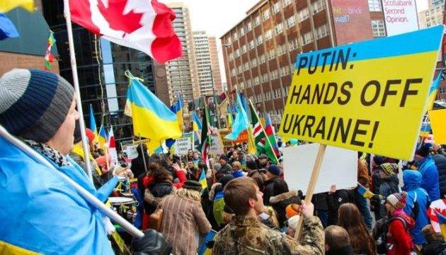 Канадські українці обіцяють пам'ятати про жертовність Небесної Сотні