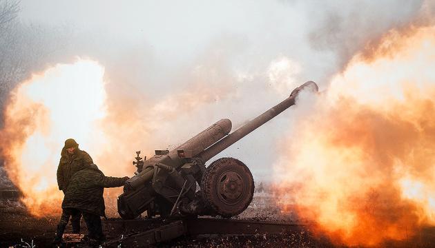 Боевики обстреляли Зайцево из тяжелой артиллерии