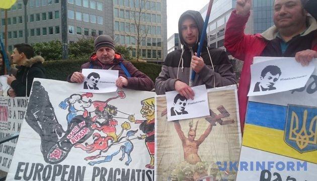 Європі нагадали про злочини режиму Путіна та підтримали Сущенка