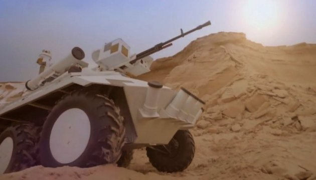 Ukrainian 'Fantom' among most interesting military vehicles of 2017 IDEX. Video