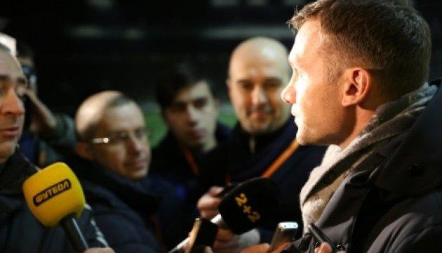 Шевченко: Клуби і збірна України мають бути партнерами