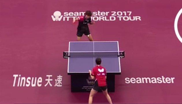 У настільному тенісі встановлено новий світовий рекорд