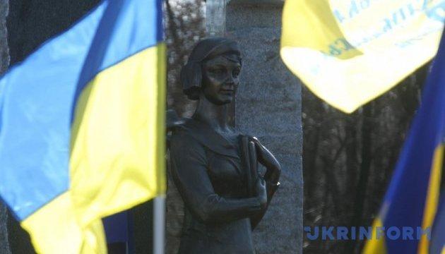 У Києві пам'ятник Олені Телізі обладнають відеонаглядом