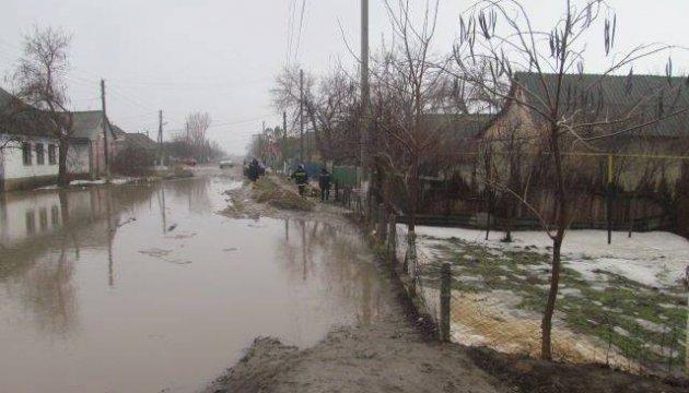 У Молдові прорвало греблю, затоплені будинки в Комраті