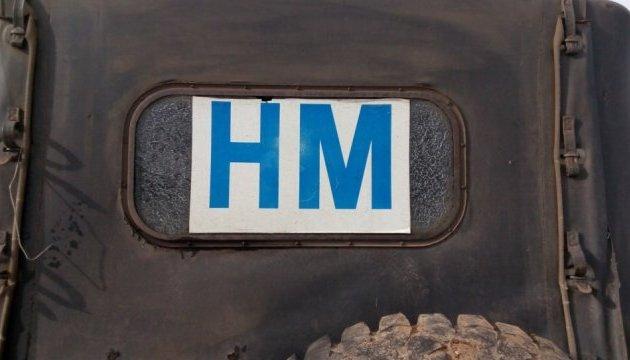 Бойовики обстріляли авто з українськими офіцерами СЦКК