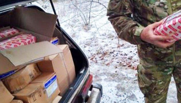 Прикордонники затримали автомобіль, який віз на окуповану територію 700 кг сиру