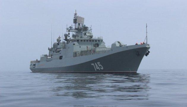 Росія відправила з окупованого Криму до Сирії фрегат
