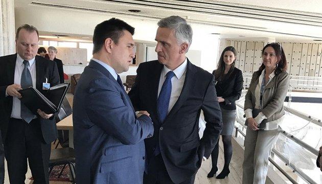 Клімкіна запевнили в Женеві, що дадуть безвіз для українців після рішення ЄС