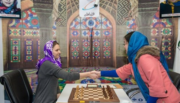 Музичук і Тань зіграли внічию першу партію фіналу ЧС-2017 з шахів