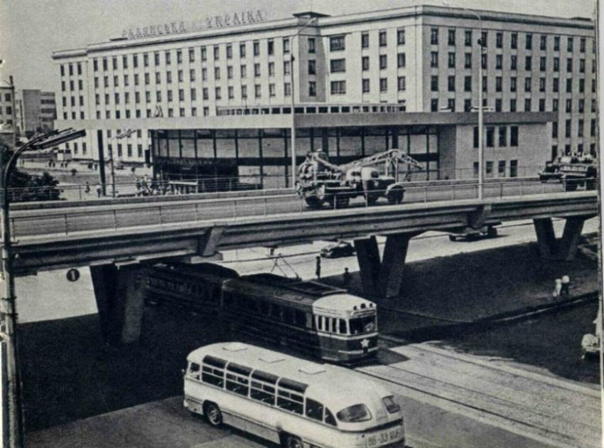 Шулявський шляхопровід збудували у далекому 1964 році