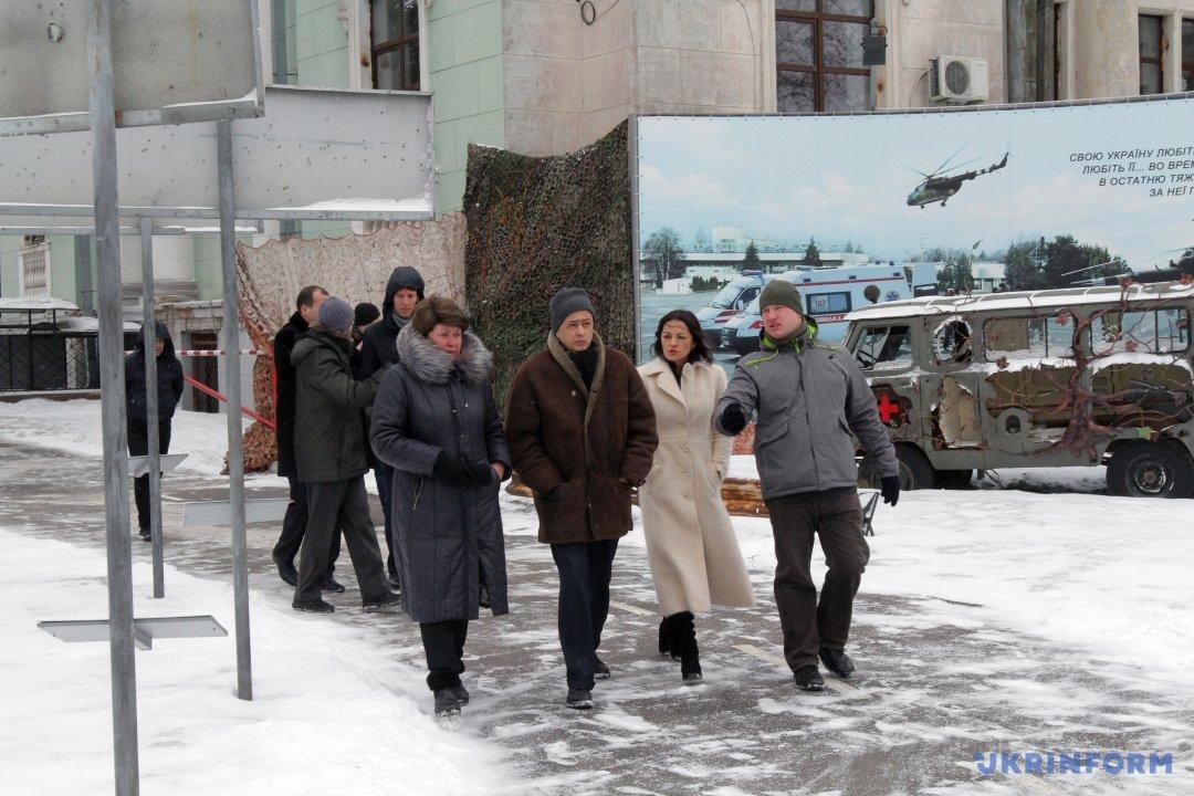 Хюг Мінгареллі (у центрі) . Фото: Микола М'якшиков