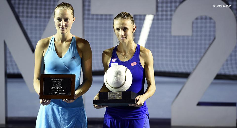 На фото: Леся Цуренко (праворуч) та Крістіна Младенович. (Getty Images).