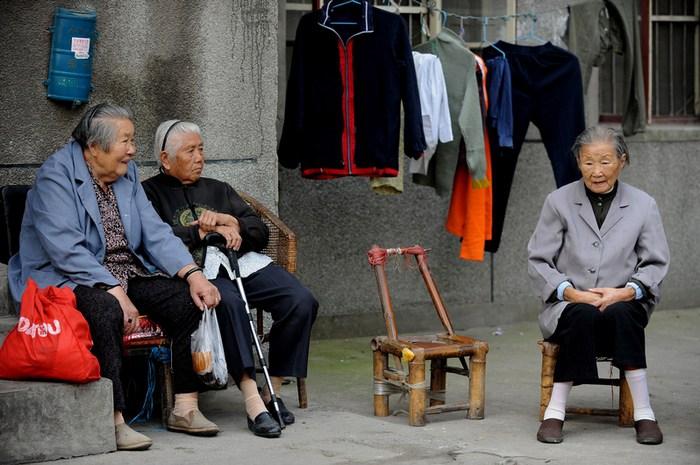 Китайські пенсіонерки