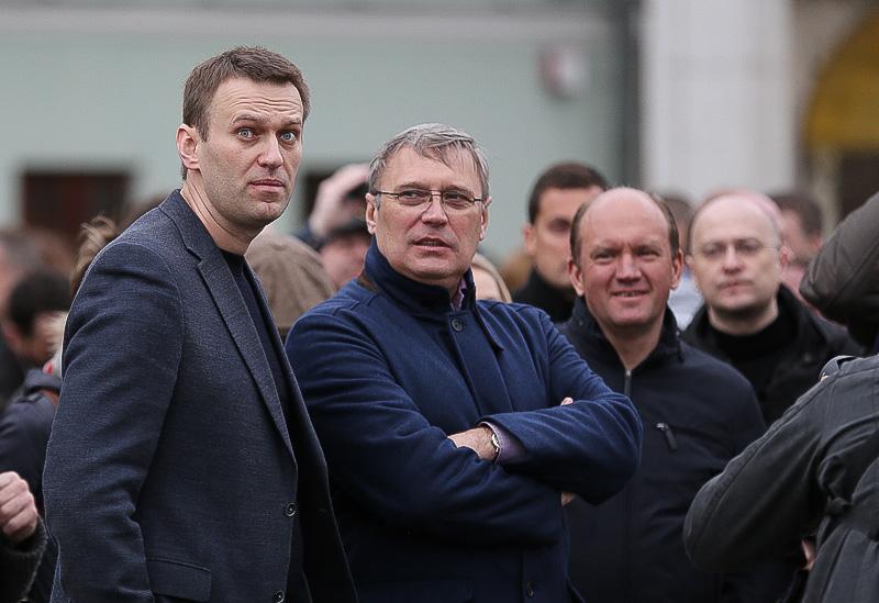 Олексій Навальний і Михайло Касьянов