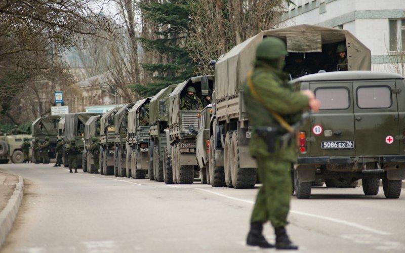Окупація Криму військовими РФ у 2014 році