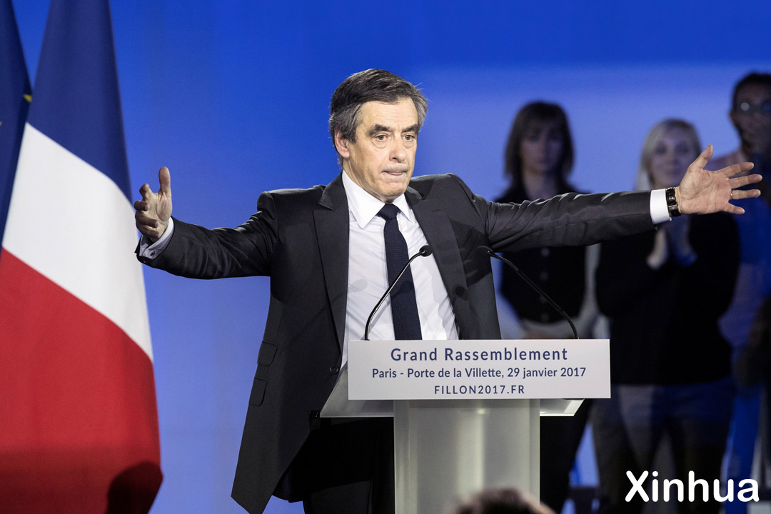 Франсуа Фийон. Фото: Xinhua / Укринформ