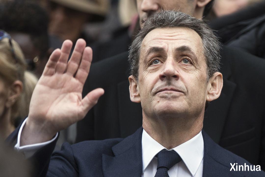 Ніколя Саркозі. Фото: Xinhua / Укрінформ