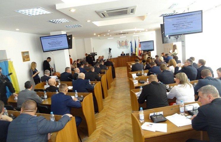 Вінницькі депутати ухвалили мораторій на популізм (26 серпня 2016 року)