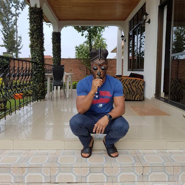 Zhanbeleniuk Доброе утро от обладателя африканской маски!