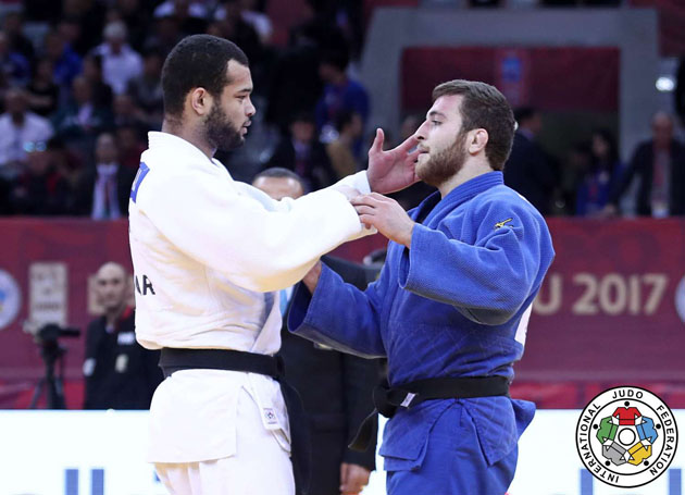 Baku Grand Slam 2017, BRONZE UKR NHABALI vs AZE RASULLU, -90 kg
