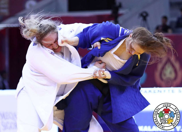 Baku Grand Slam 2017, BRONZE LTU PAKENYTE vs UKR KALANINA, +78 kg